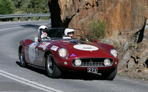 $1M Ferrari graces Adelaide Classic Rally