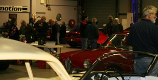 Alfa Romeo Club Night in Full Swing