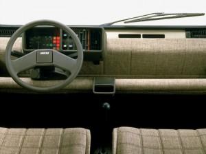 1980 Fiat Panda Interior