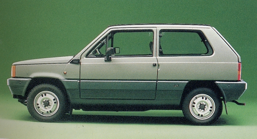 фиат панда 1980