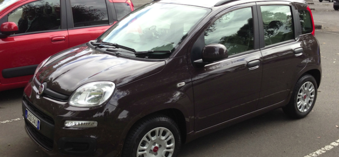 Fiat Panda – a car for florists?