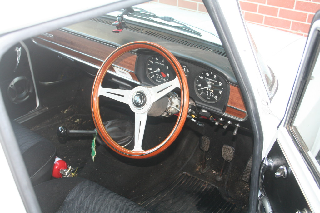 Alfa Romeo Giulia Ti with Nardi steering wheel