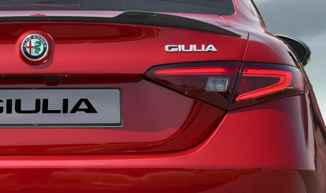 New Alfa giulia rear