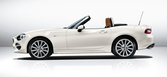 New Fiat 124 Spider Breaks Cover