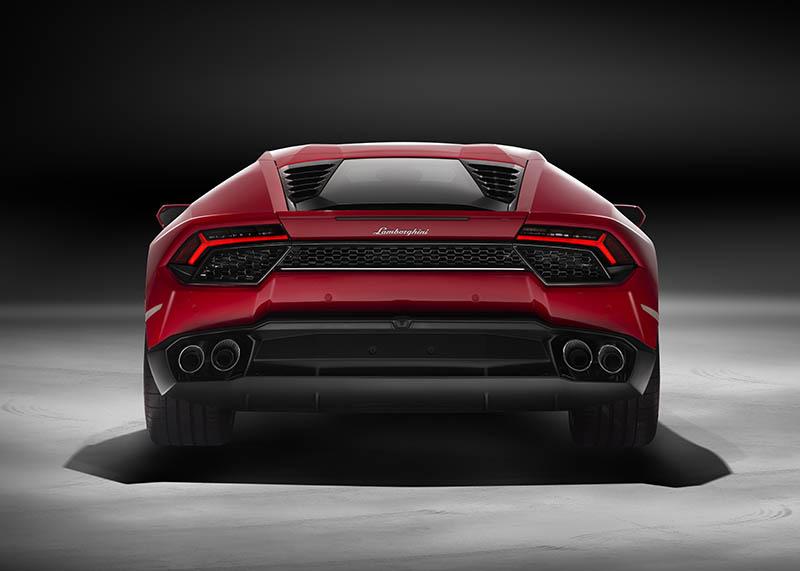 Lamborghini Huracan LP 580-2 rear