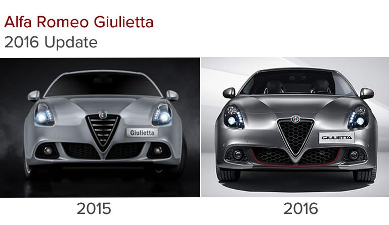 2016 Alfa Romeo Giulietta Update