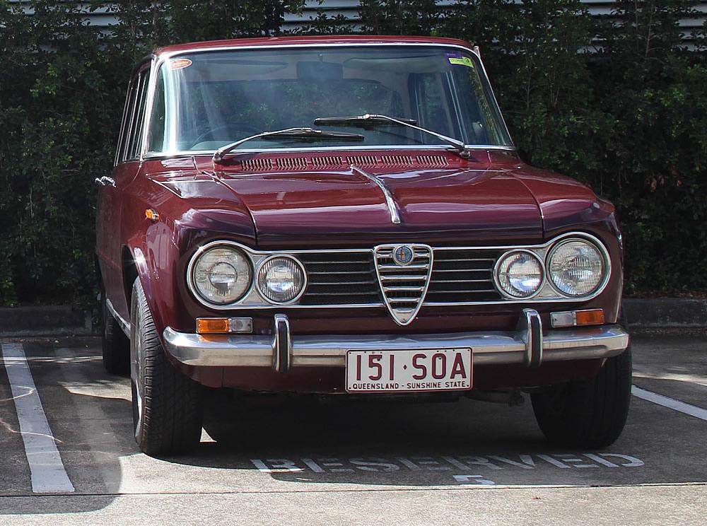 Alfa Romeo Giulia Super 1966