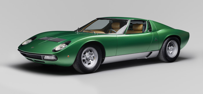 Stunning Lamborghini Miura SV 1971 Geneva show car