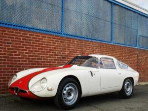 ItalianCar White Alfa Romeo Zagato