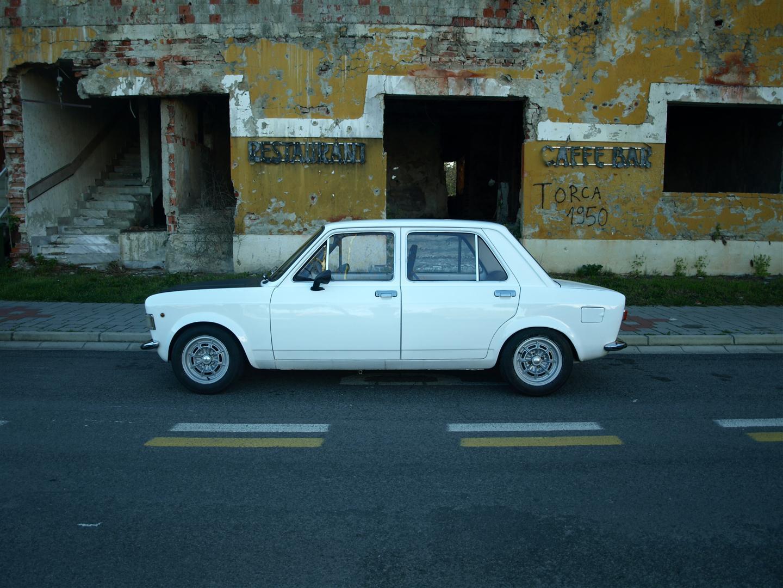 ItalianCar White Fiat 128