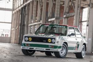 ItalianCar White Fiat 131