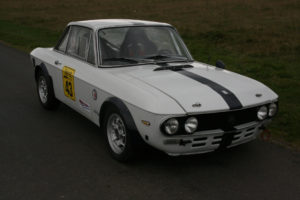 ItalianCar White Lancia Fulvia