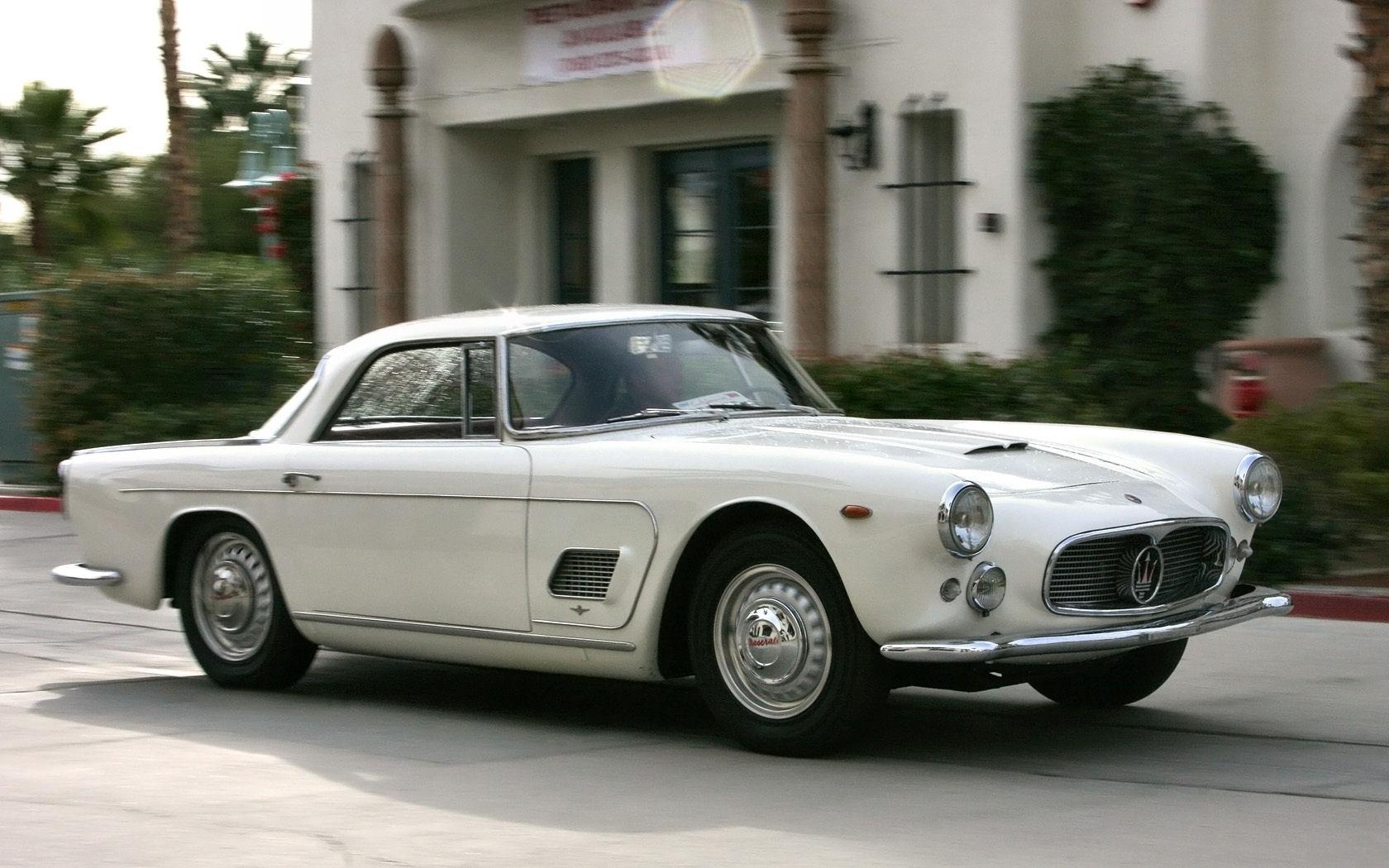 ItalianCar White Maserati 3500
