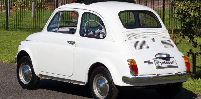 Two Fiats Go Under The Hammer
