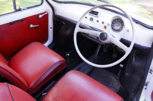 1970 Fiat 500 Interior