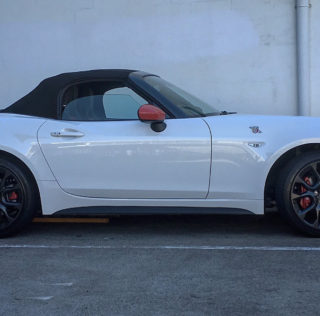 Abarth 124 Spider: First Impressions