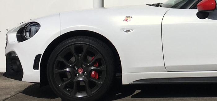 Design Notes – Abarth 124 Spider