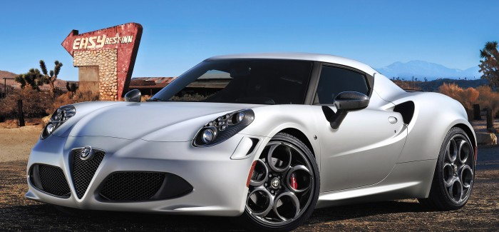 Almost here: Alfa Romeo 4C
