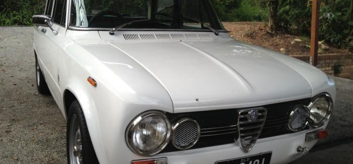 1968 Alfa Romeo Giulia Ti: First Impressions
