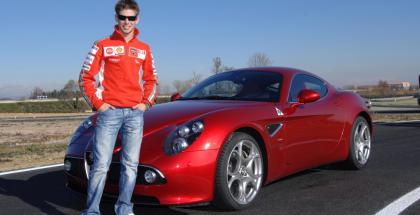 Casey Stoner and Alfa 8C