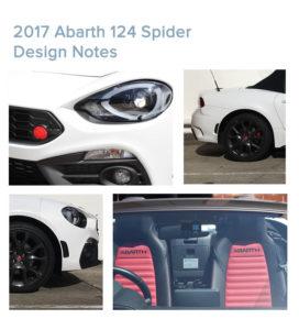 abarth 124 spider designnotes