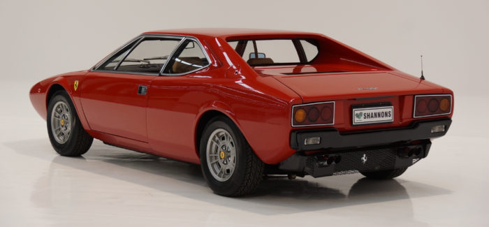 Going, going….Ferrari 308 GT4 Goes Under The Hammer
